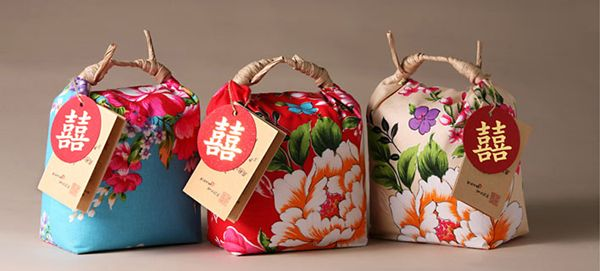 This are beautiful. Chinese Rice Packaging design