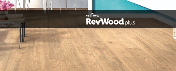 Mohawk RevWood Plus Waterproof Plank Flooring Mohawk