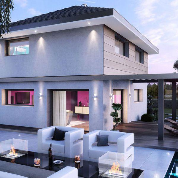 Modèle de maison Maison Bois - 3 Chambres plus suite parentale
