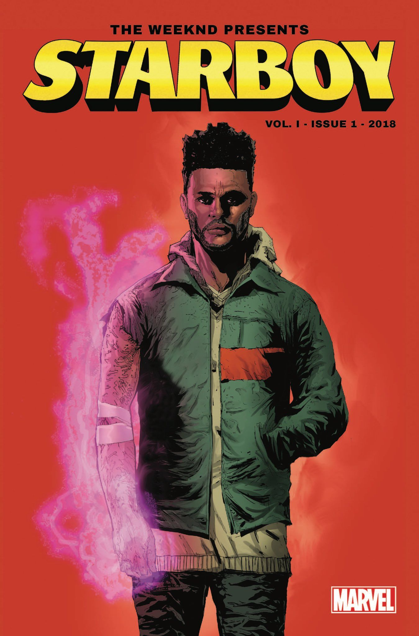 The Weeknd And Marvel Announce Starboy Comic Book