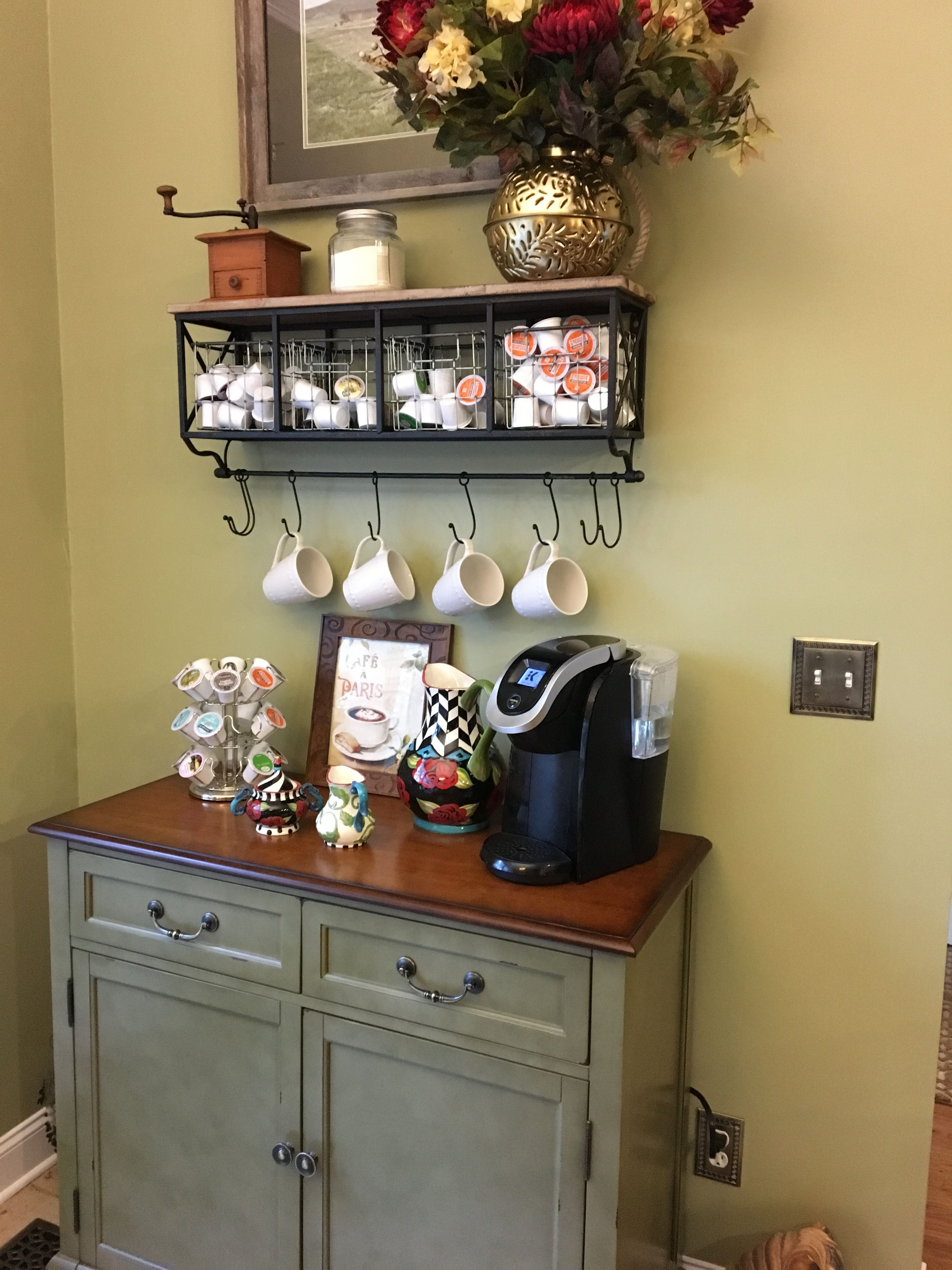Coffee Bar In Kitchen Hobby Lobby