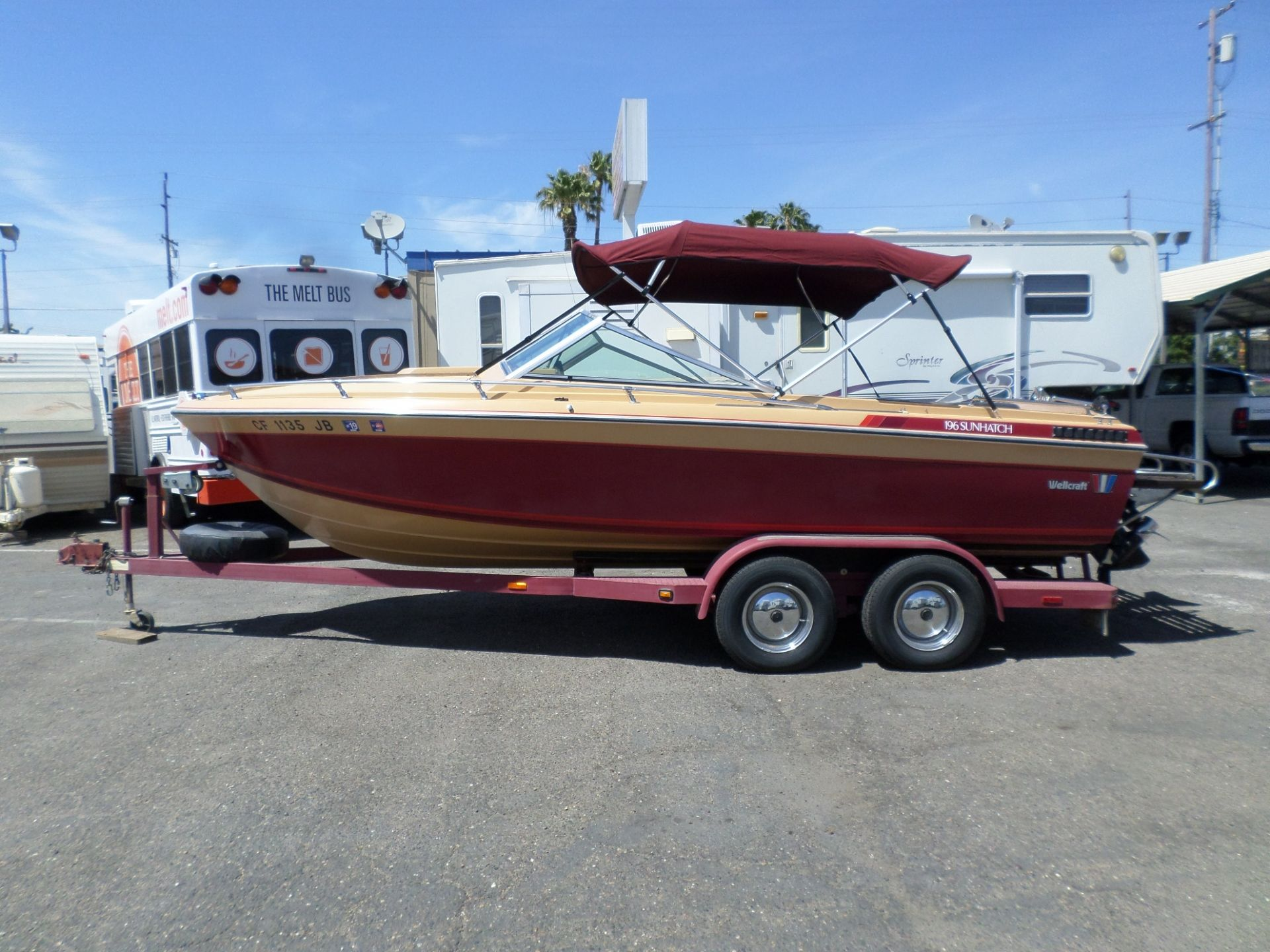 Boat For Sale 1983 Wellcraft 196 Sunhatch 20 In Lodi Stockton Ca Boats For Sale Used Trucks For Sale Used Boat For Sale