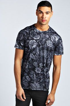 loving the All Over #Floral Printed T Shirt for the guys # ...