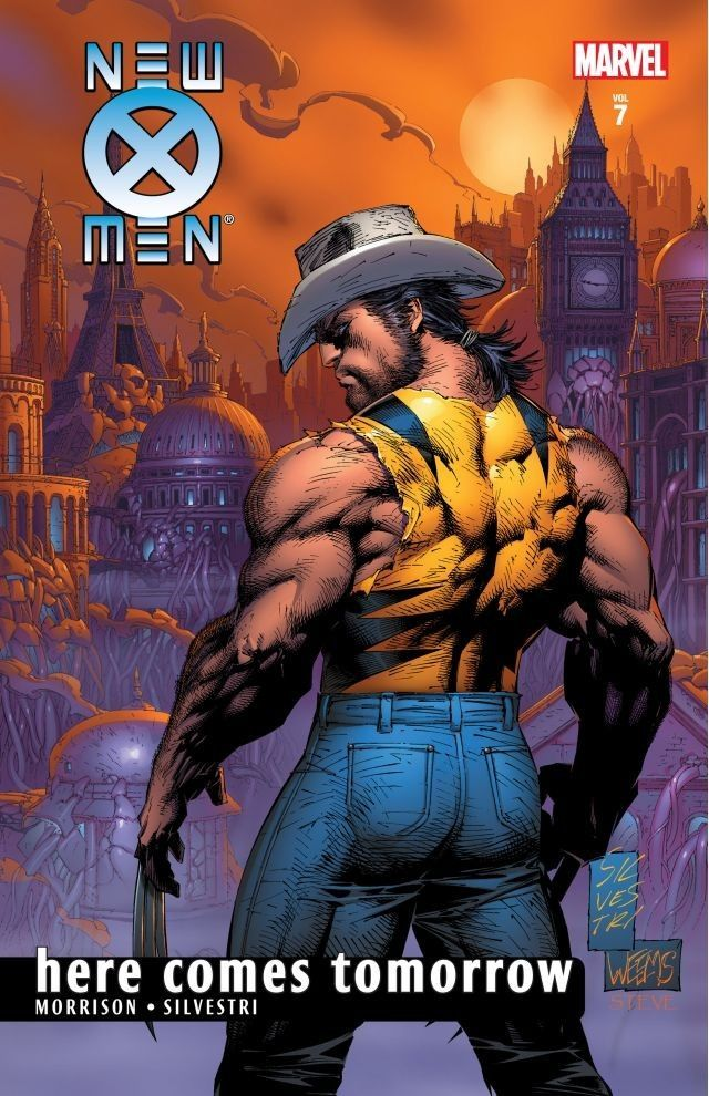 New X Men By Grant Morrison Vol 7 Here Comes Tomorrow Comics By Comixology Wolverine Marvel Wolverine Art Marvel