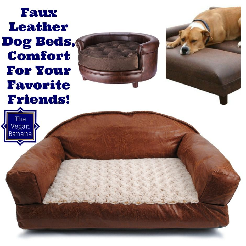 Faux Leather Dog Beds Dog Bed Pet Organization Dog Pen