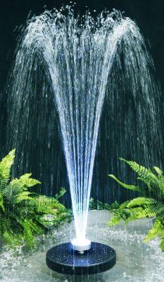 Fuente Chorros de Agua Apolo - Luces LED Multicolores | Diseño ...
