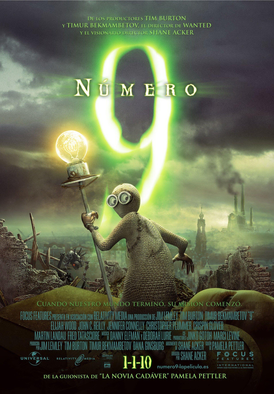 Numero 9 Peliculas De Animacion Carteles De Peliculas Cartel