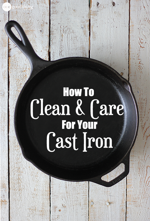 Using cast iron is easy - as long as you know how to care for it!