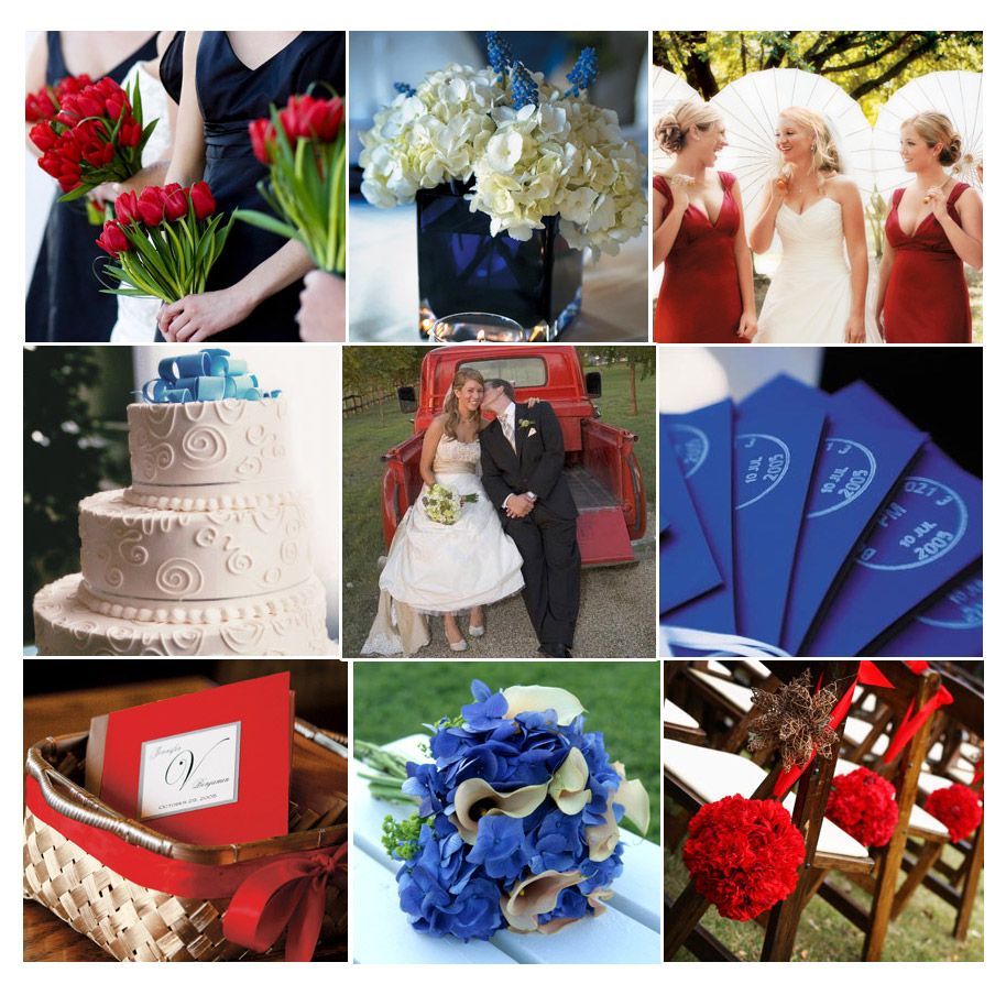 Wedding decoration ideas red and white  red white and something blue  red white and blue wedding theme