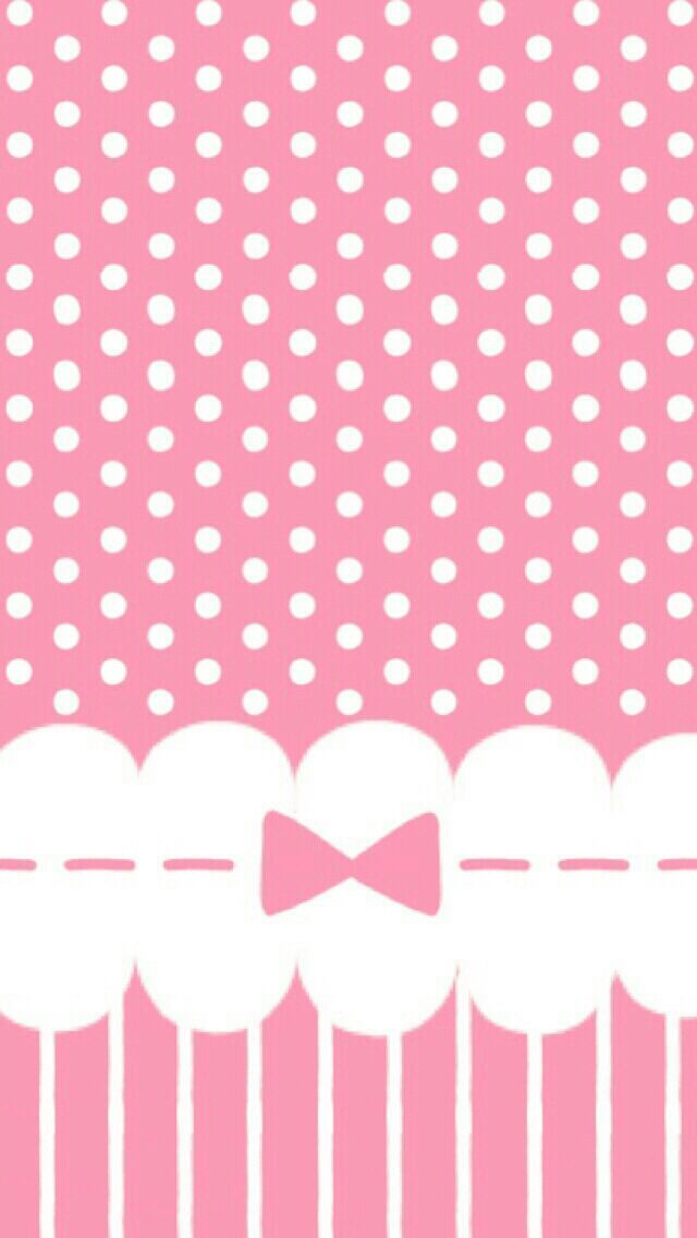 Cute Girly Pattern Wallpaper