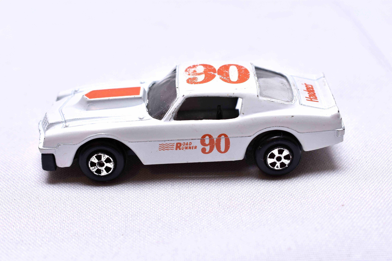 Vintage Ertl Chevrolet Camaro Hardees 90 Die Cast Toy Car 1980 S