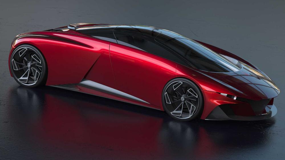 Mazda Supercar Rendering Imagines A Japanese Mid Engine Beauty Super Cars Mazda Supercar Design