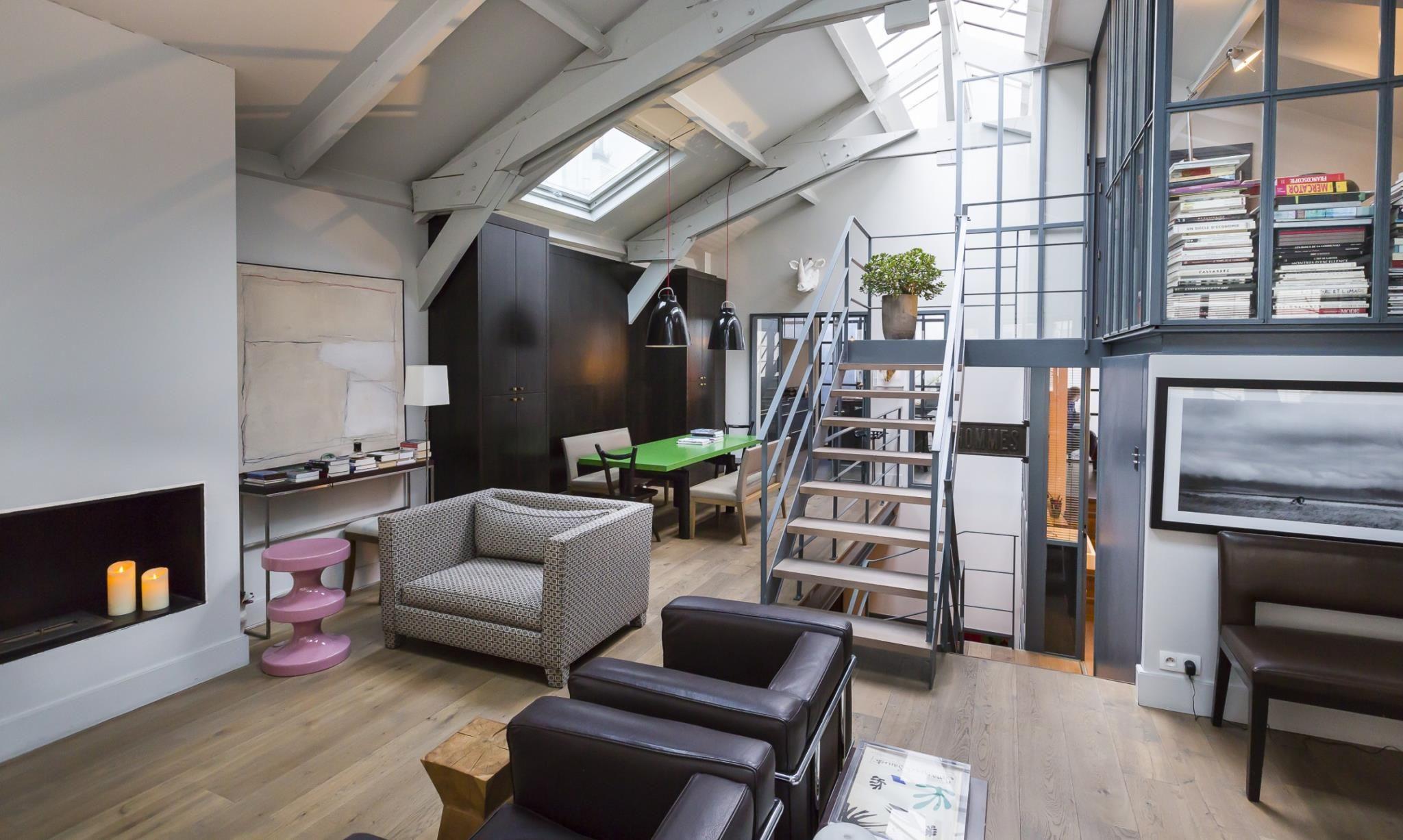 Room Converted workshop in Paris 2048x1227