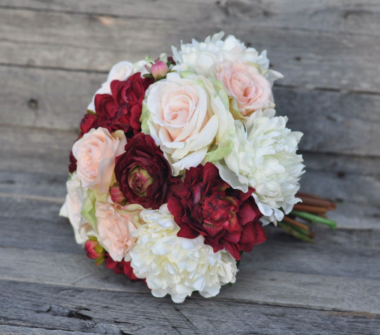 Silk Flower Wedding Bouquets From Hollys Flower Shoppe Shipping