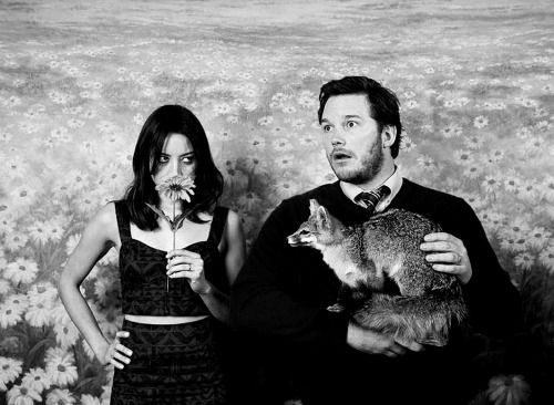 chris pratt aubrey plaza tv show