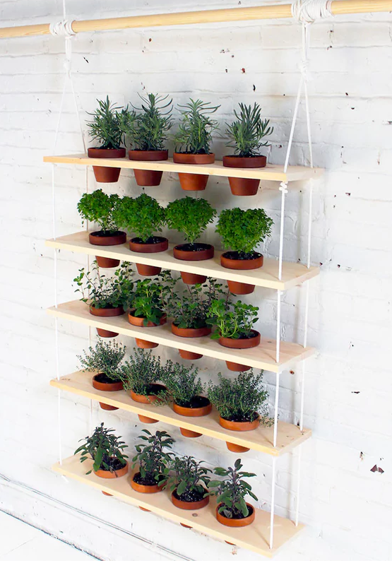 16 Simple And Cute DIY Herb Gardens To Decorate Your Home is part of garden Table Ideas - Make your home happier and healthier with an herb garden!