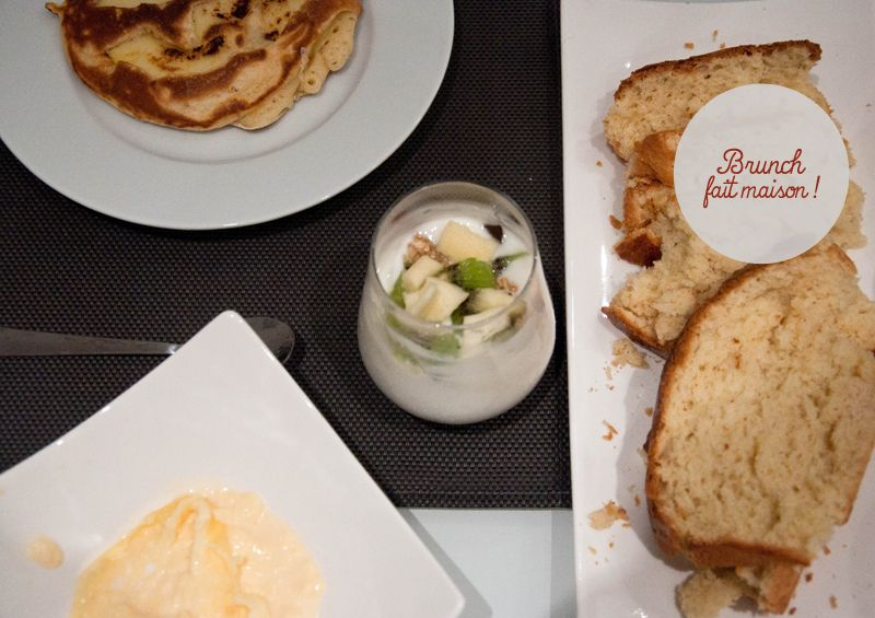 brunch maison pancakes brioche scones oeufs brouillés | Oeufs - Brunch | Brunch maison, Brunch ...