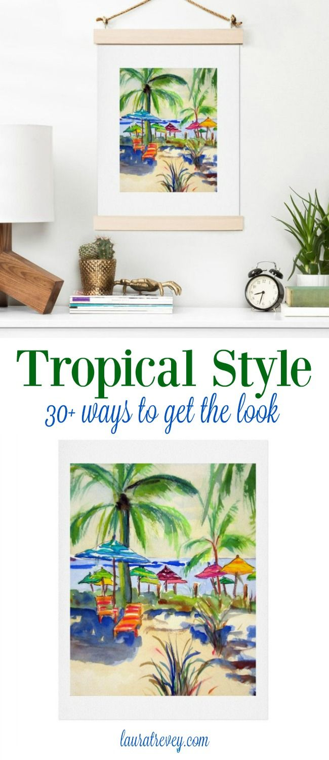 tropical home decor with bold island colors bright bold and rh pinterest com