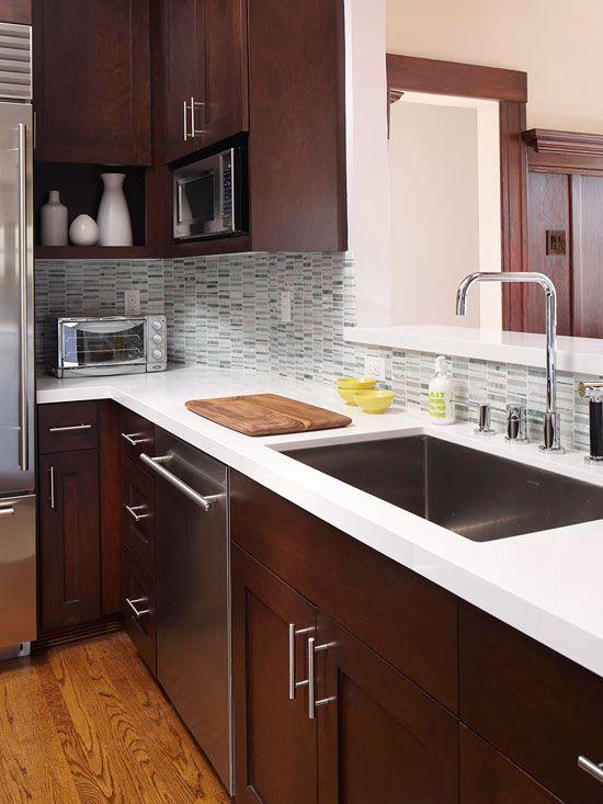 Cool sink | Custom Kitchens | Pinterest | Muebles de cocina, Granito ...