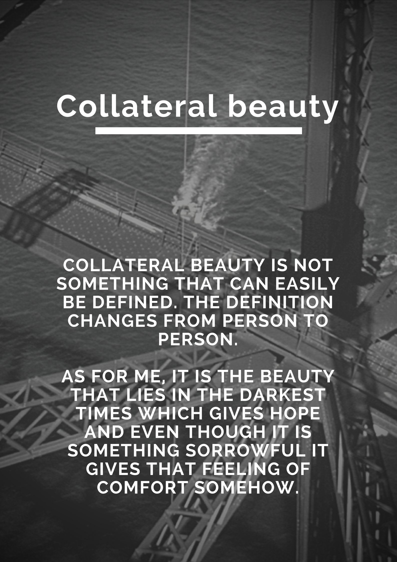 Collateral Beauty With Images Collateral Beauty Quotes The