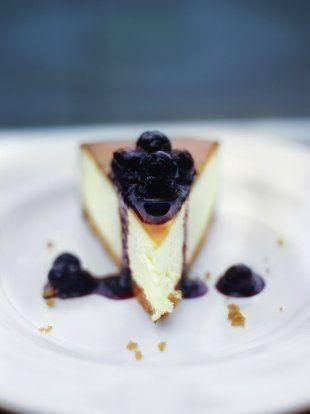 new york vanilla cheesecake cheese recipes jamie oliver recipes rh pinterest com