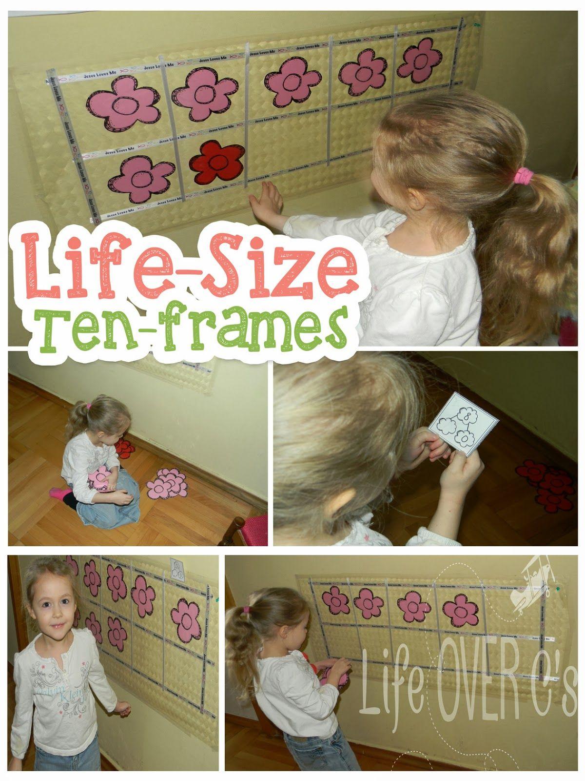 Free Interactive Ten Frame Activities Life Over Cs