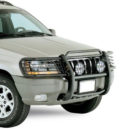 Brand New 1999 2004 Grand Cherokee Grille Saver Bumper Brush Guard Excl Limited Black By Maxmate Http Www Amazon Com D Jeep Grand Cherokee Jeep Wj Jeep Wk