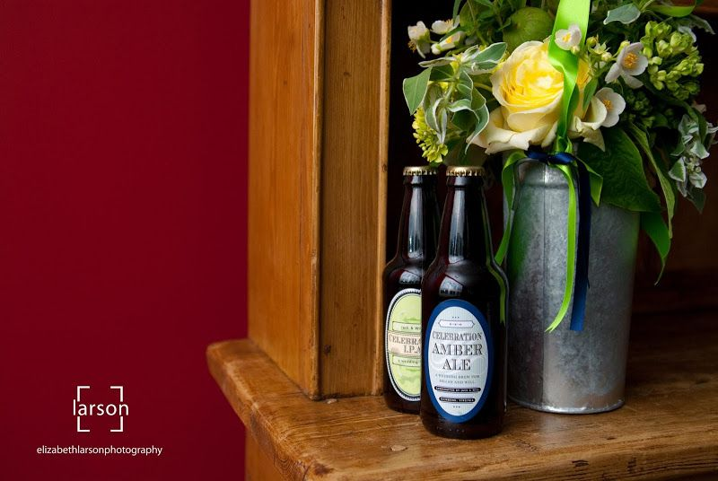 Elizabeth Larson Photography - hand crafted beer by the groom - King Family Vineyards