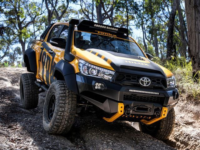 this toyota hilux tonka concept is the off road adult toy vehicles pinterest toyota toy. Black Bedroom Furniture Sets. Home Design Ideas