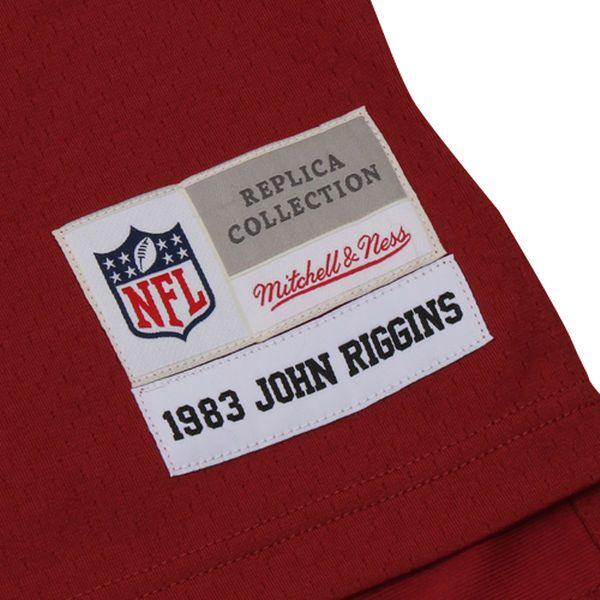 788ebd30a Mens Washington Redskins John Riggins Mitchell   Ness Burgundy Retired  Player Vintage Replica Jersey