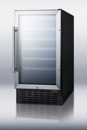 34 bottle single zone convertible wine refrigerator be sure to rh pinterest nz