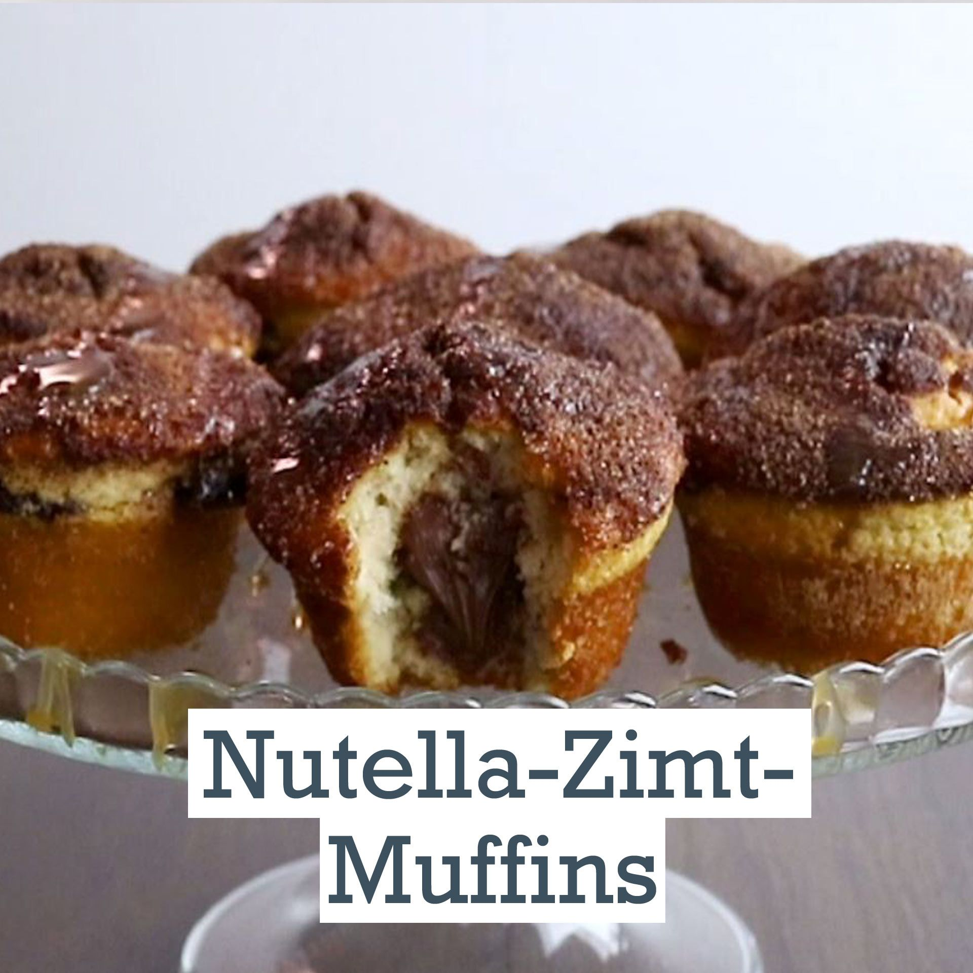 Nutella-Zimt-Muffins - so geht's | LECKER