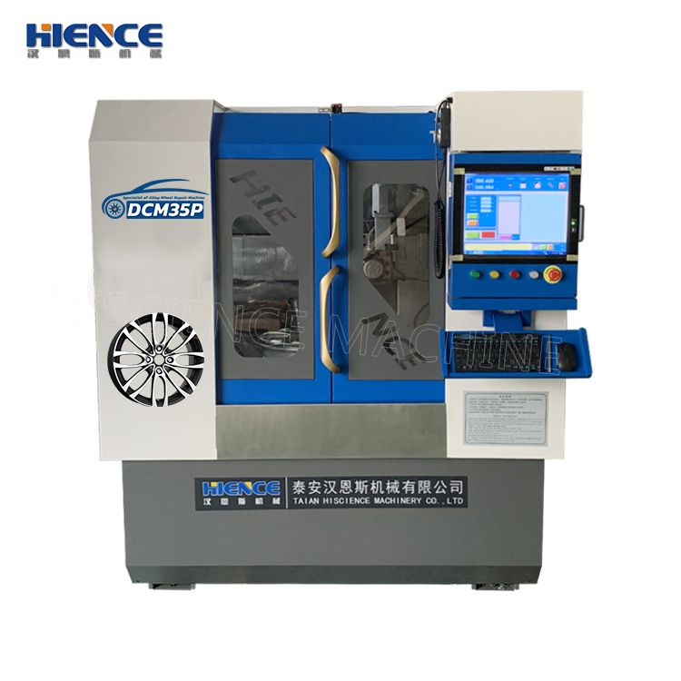 HIENCE Vertical Wheel Lathe Is A Completely New Research
