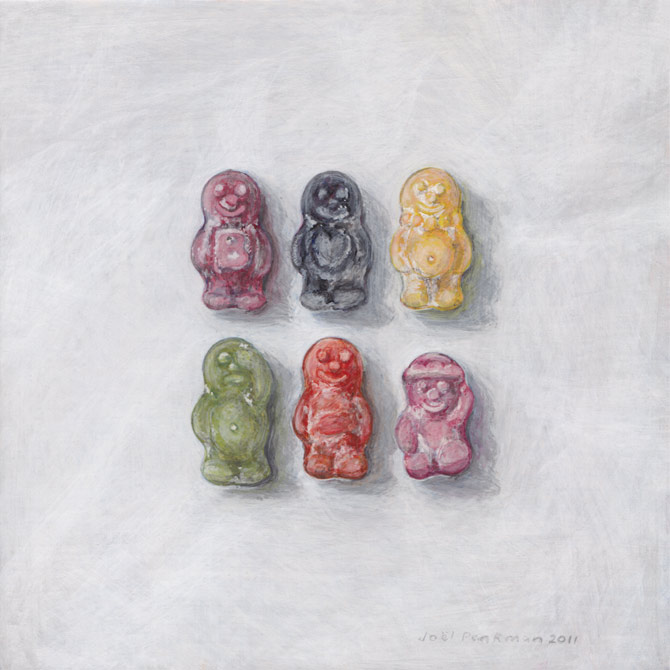 A painting, of Jelly Bellies Sweet selection - by joel ...