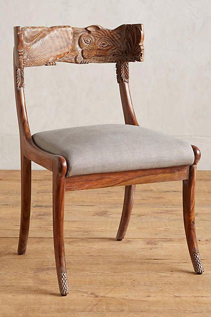 Handcarved Fable Dining Chair