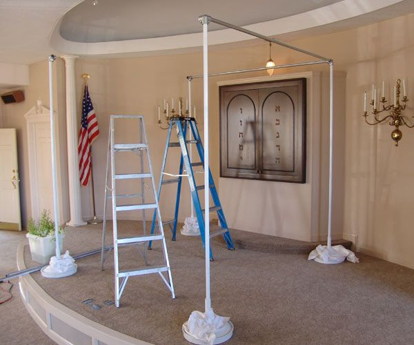How To Make A Portable Wedding Backdrop Frame With Pvc Piping The