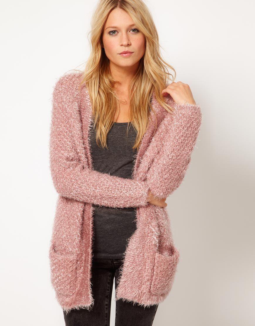 Fluffy Oversized Cardigan $78.93 | Fashion Items I love ...