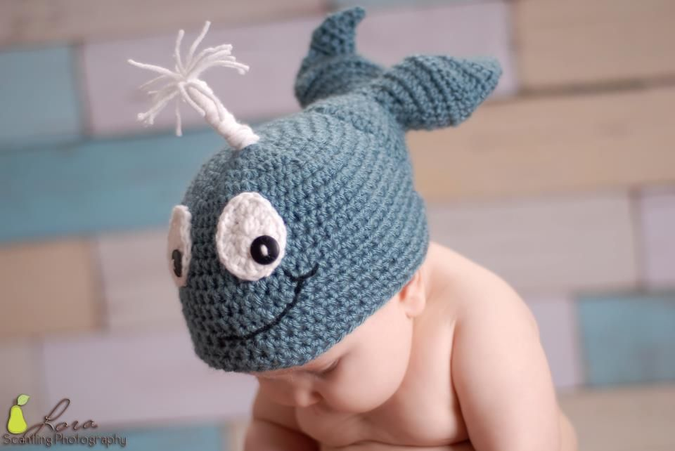 Waverly the Whale Pattern 0-Adult