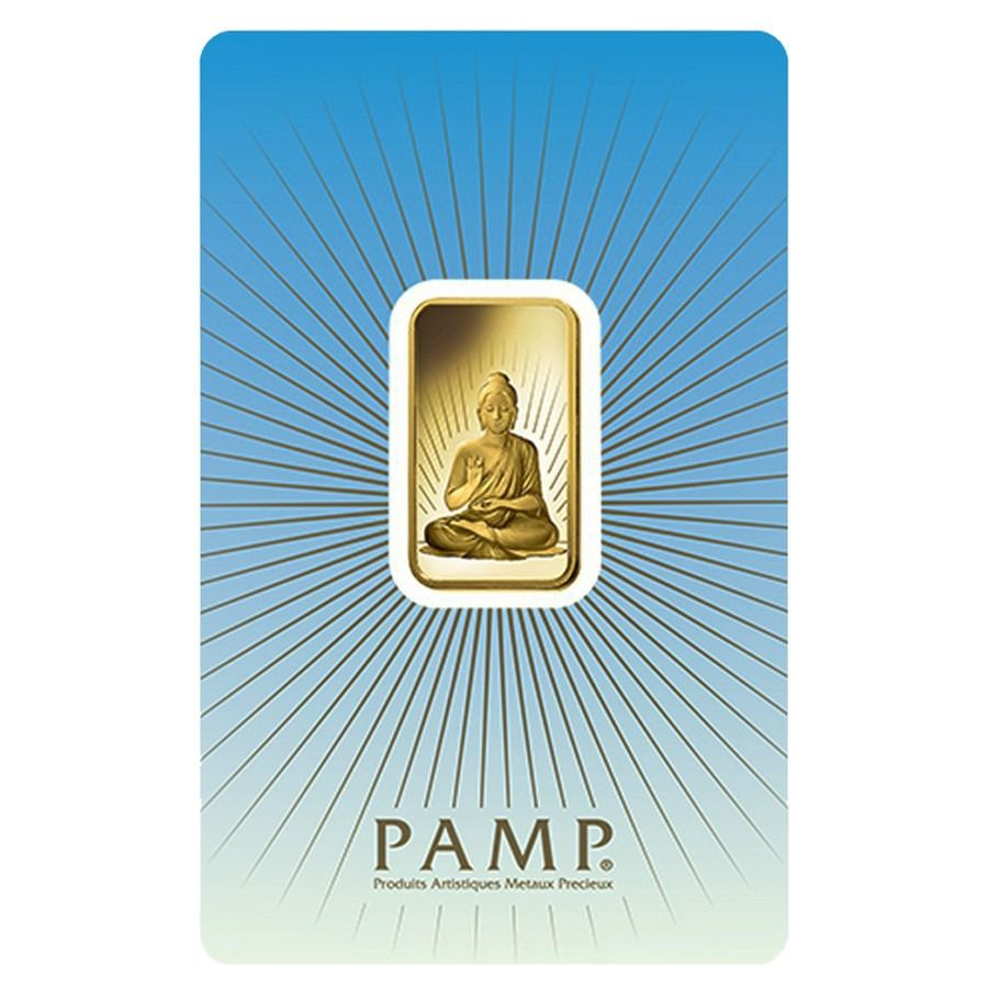 10 Gram Pamp Suisse Buddha In Assay