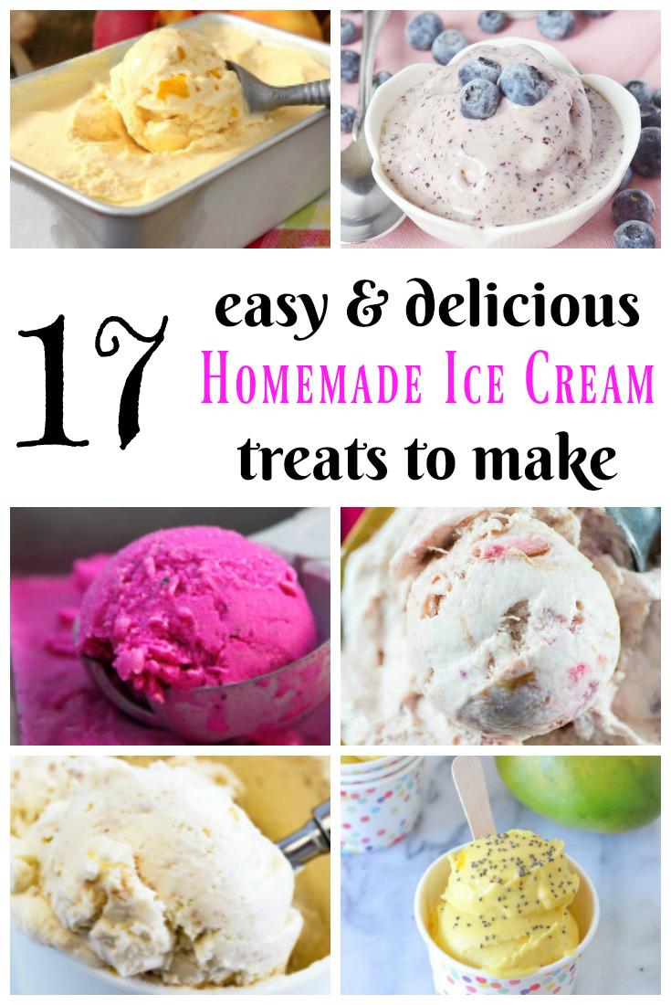 17 easy homemade ice cream treats to make healthy lifestyle tips rh pinterest com