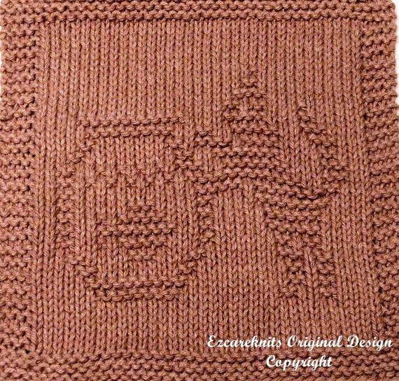 Knitting Cloth Pattern FISHBOWL KITTY Instant by ezcareknits, $3.00 ...