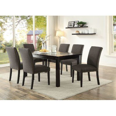 darby home co chalone 7 piece dining set products comedores rh pinterest cl