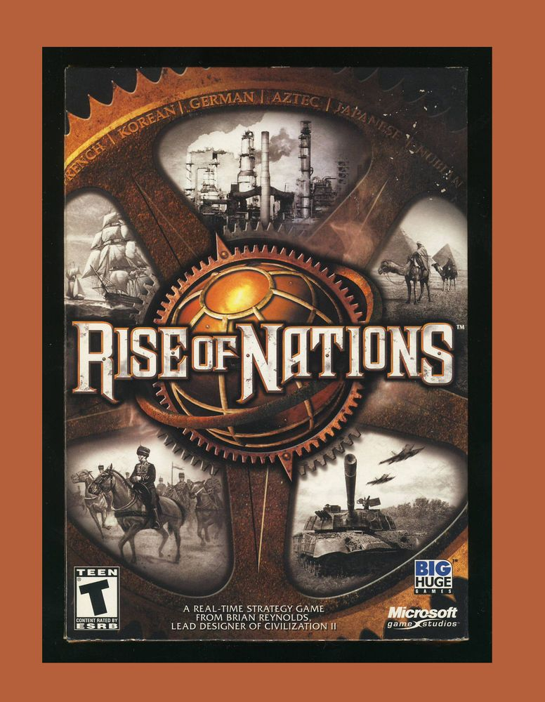 Rise of Nations (PC GAME 2003) Windows XP/2000/ME/98