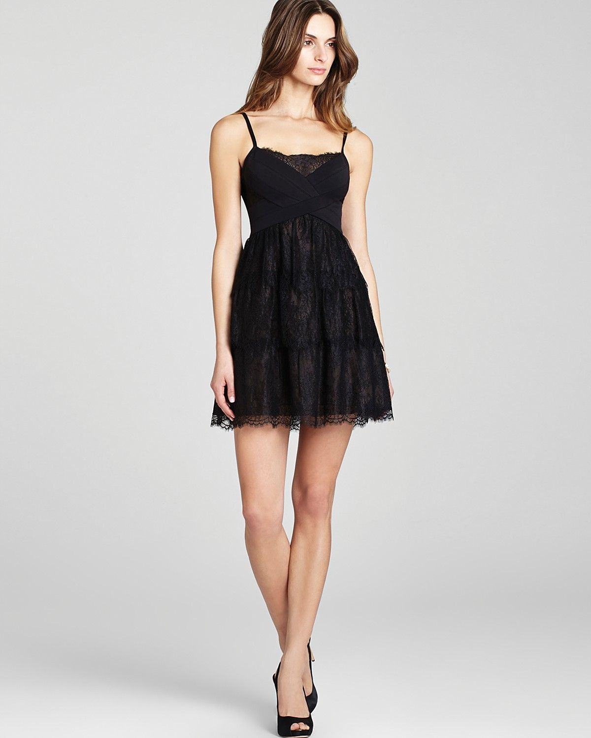 BCBGMAXAZRIA Dress - Sleeveless Lace | Bloomingdales
