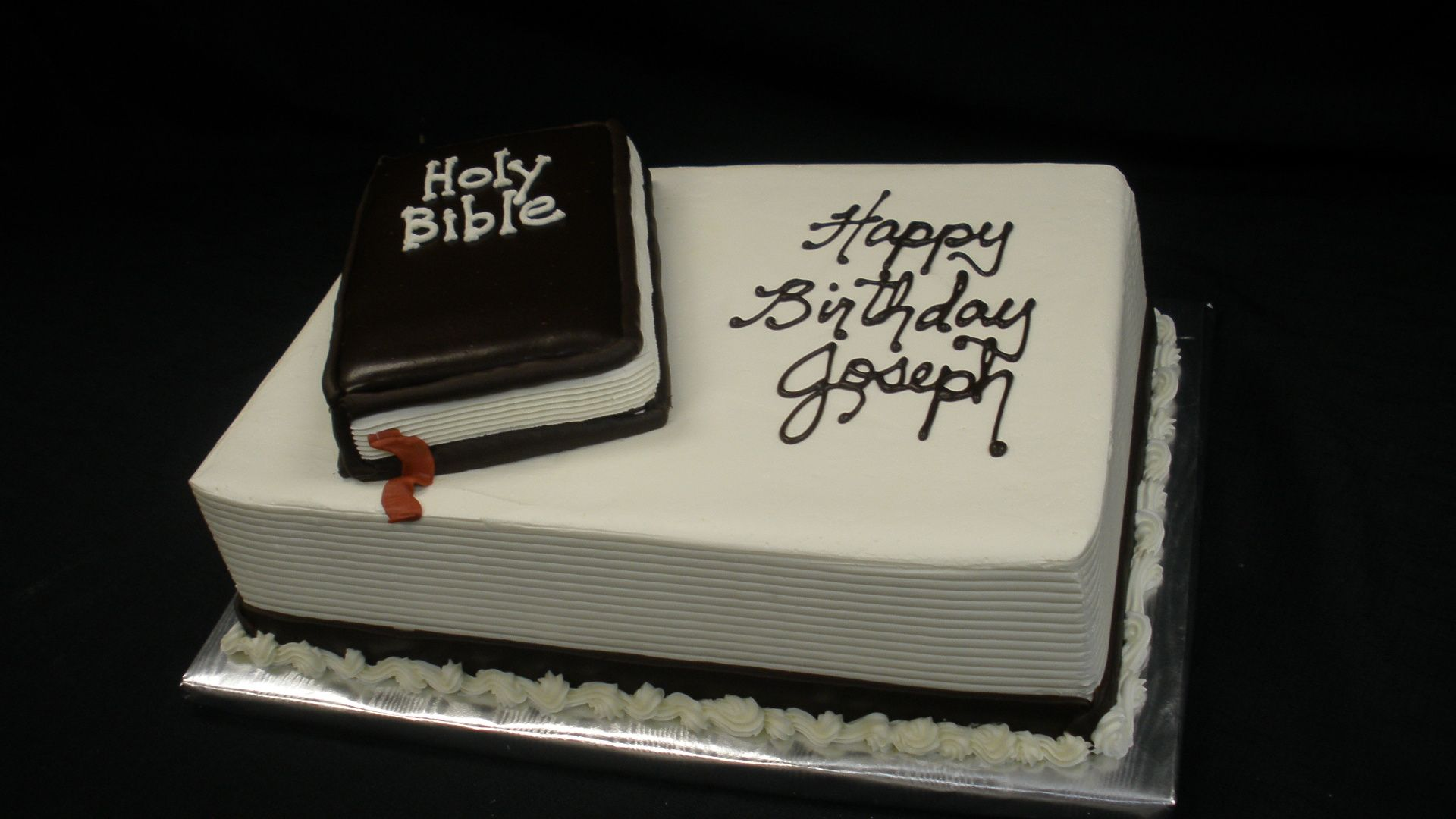Images Of Bible Birthday Cakes