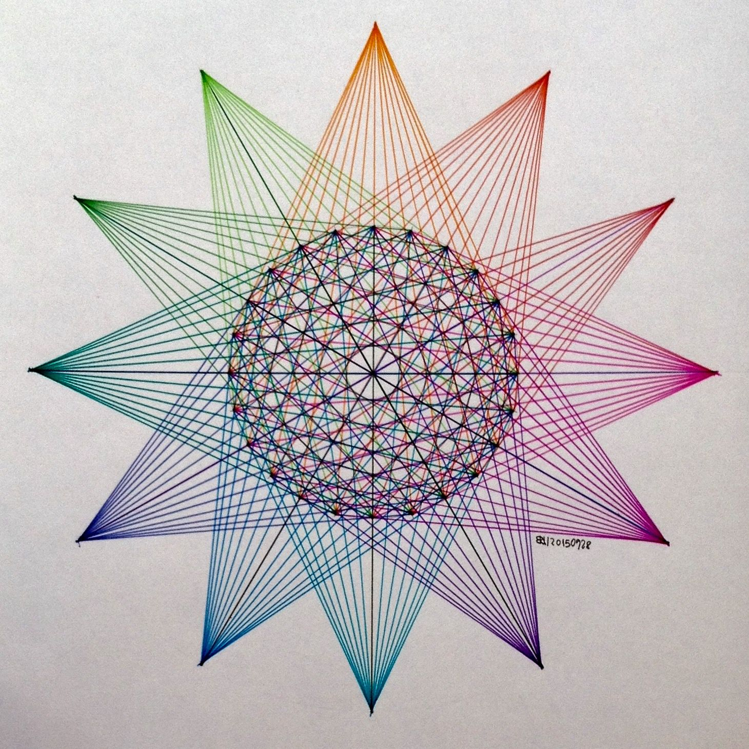 #regolo54 #sangaku #geometry #symmetry #patterns #math # ...