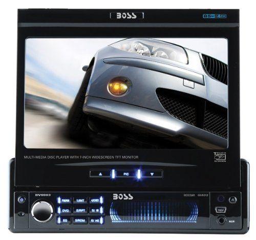 Boss BV9993 In-Dash DVD/MP3/CD AM/FM Receiver by BOSS