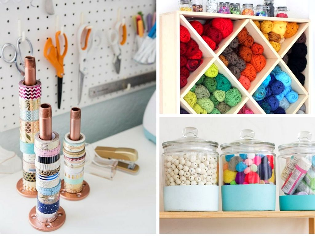 Don 39 T Miss These Brilliant Craft Room Organization Hacks You 39 Ll Wish You Knew Sooner Genius Ideas Craft Room Organization Room Organization Craft Room