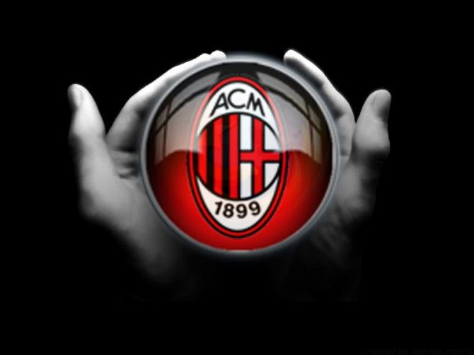 Pin Su For All Ac Milan Fans
