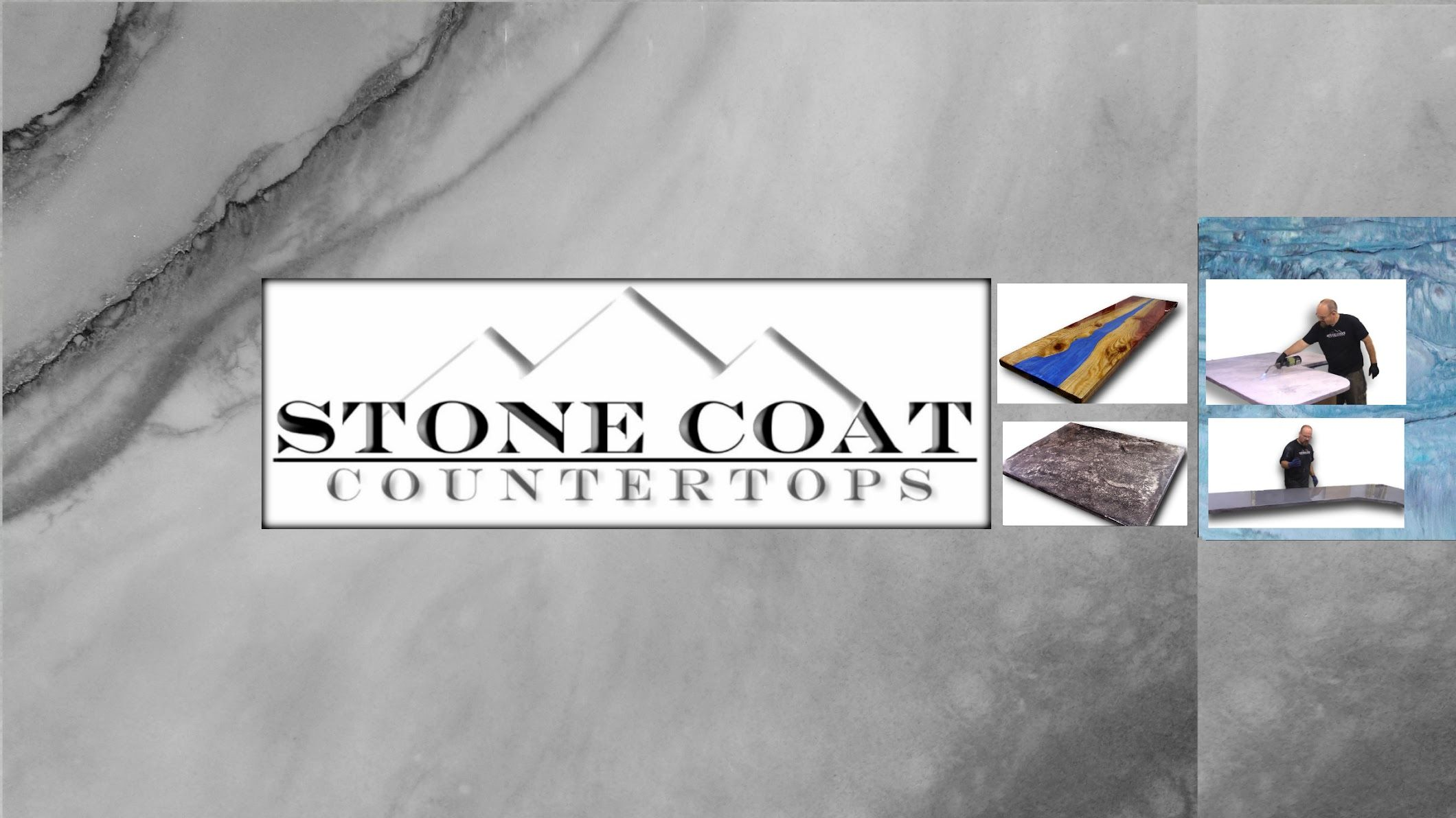 9 Stone Coat Countertops Youtube Countertops Wood Slab Table